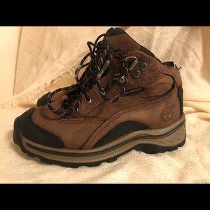 Toddler boys timberland hiking boots